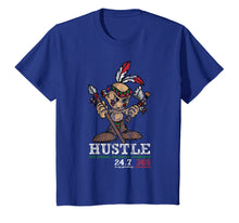 Ladda upp bild till gallerivisning, Funny shirts V-neck Tank top Hoodie sweatshirt usa uk au ca gifts for Hustle Hard 247 Shirt with Young Indian Native American Gift 3085824