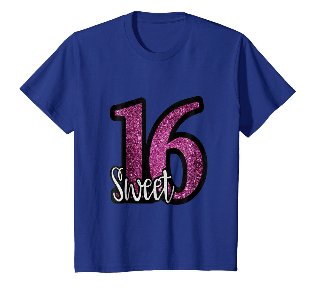 Funny shirts V-neck Tank top Hoodie sweatshirt usa uk au ca gifts for Sweet 16 Birthday Party Glitter T Shirt 2248580