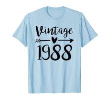 Ladda upp bild till gallerivisning, Funny shirts V-neck Tank top Hoodie sweatshirt usa uk au ca gifts for Vintage 1988 Cute Birthday Women Gift 31th Birthday Shirt 1471765