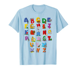 Alphabet T-Shirt Funny Cute Kindergarten Rocks For Kids