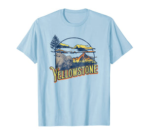 Vintage Yellowstone National Park Retro T-Shirt