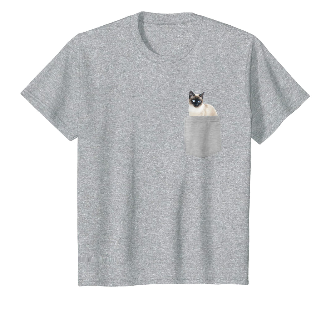 Cat In Your Pocket Siamese Cat T Shirt Shirt