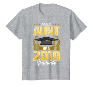 Funny shirts V-neck Tank top Hoodie sweatshirt usa uk au ca gifts for Proud Aunt Of A 2019 Graduate T Shirt College Senior Grad 1016444