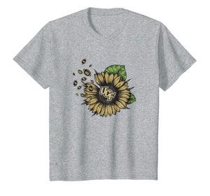 Ucf Knights Sunflower And Football T-Shirt - Apparel