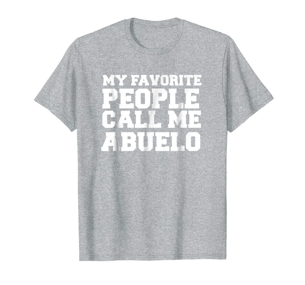 Spanish Father's Day T-shirt gifts for papi and abuelo
