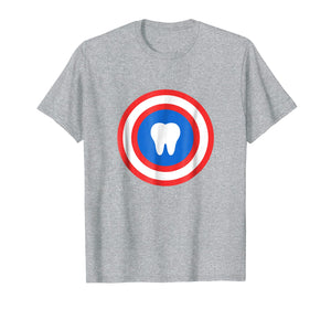 Captain Tooth Funny Dentistry Dentist T Shirt Gift