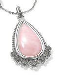 Brighton Sakura Rose Quartz Convertible Necklace