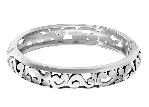 Brighton Contempo Medium Hinged Bangle