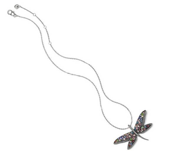 Brighton Flora Dragonfly Necklace