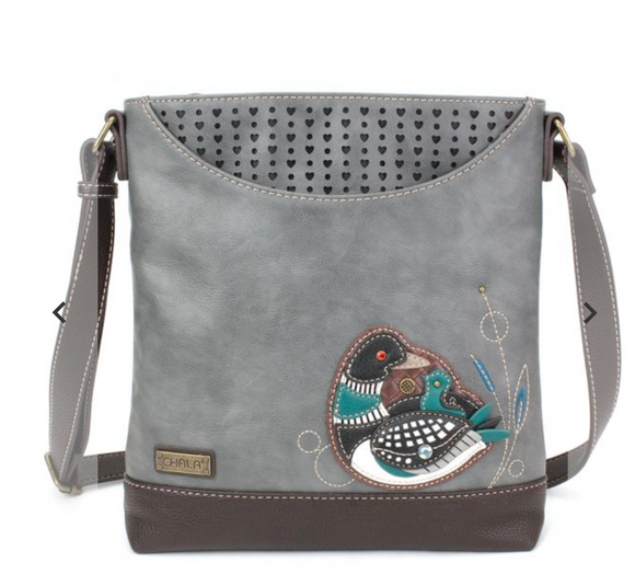 Chala Sweet Messenger - Loon Bird - Gray