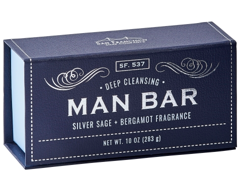 Man Bar-Deep Cleansing Silver Sage & Bergamot