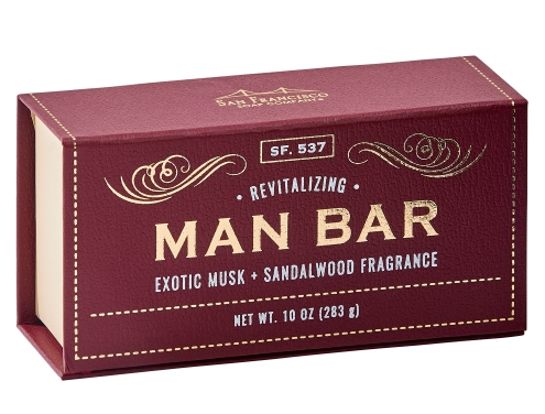 Man Bar-Revitalizing Exotic Musk & Sandalwood
