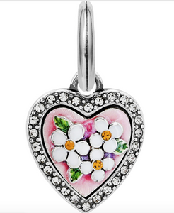 Brighton Blooming Heart Charm