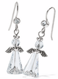 Brighton Tinsel Town Angel French Wire Earrings