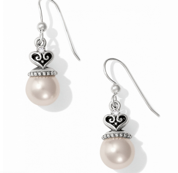 Brighton Alcazar Pearl Drop French Wire Earrings