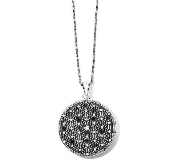 Brighton Flower Of Life Convertible Locket Necklace