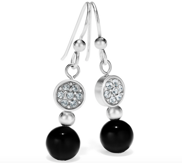 Brighton Meridian Prime French Wire Earrings (Black)