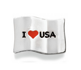 Brighton I Heart USA Bead/Charm