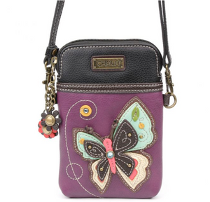 Chala New Butterfly - Cell Phone Xbody (Purple)