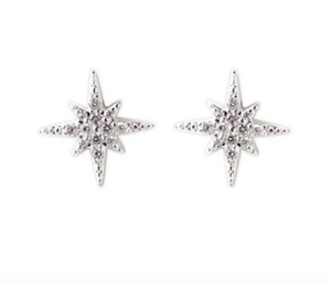 Jody Coyote Starry Night Earring Collection: Starburst Studs