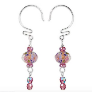 Jody Coyote Wyndale Earring Collection : Pink