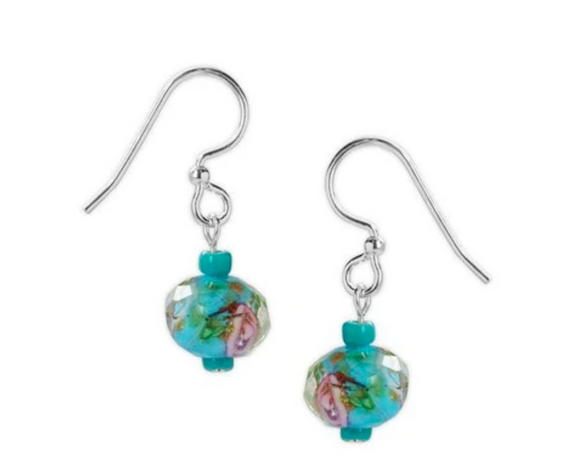 Jody Coyote Wyndale Earring Collection : Teal