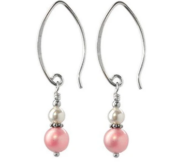 Jody Coyote Fifth Avenue Earring Collection: Mini Pastel Pink