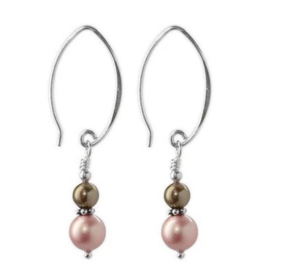 Jody Coyote Fifth Avenue Earring Collection: Pastel Rose Gold