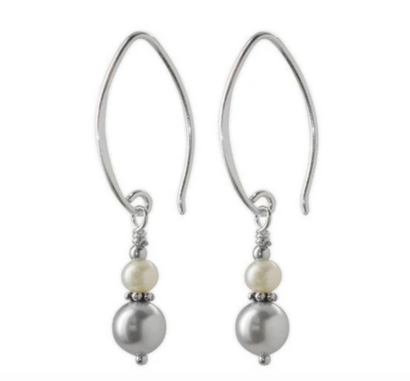 Jody Coyote Fifth Avenue Earring Collection: Pastel Silver