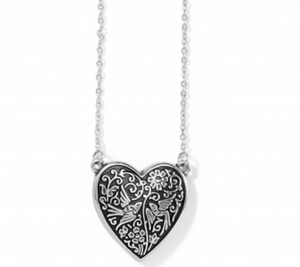 Brighton Moonlight Garden Heart Necklace