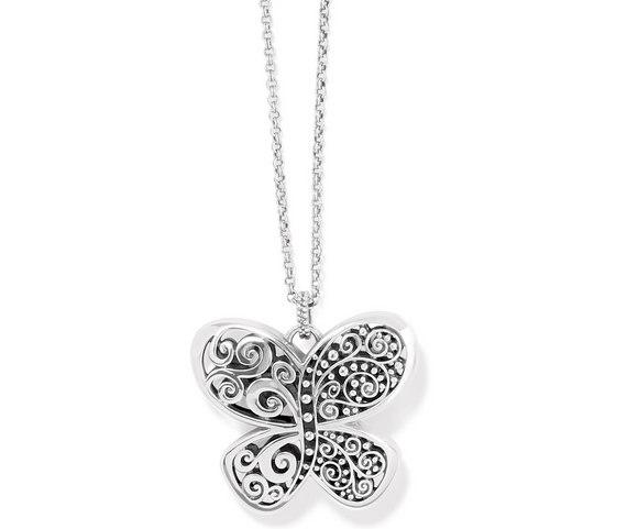Brighton Love Affair Butterfly Necklace