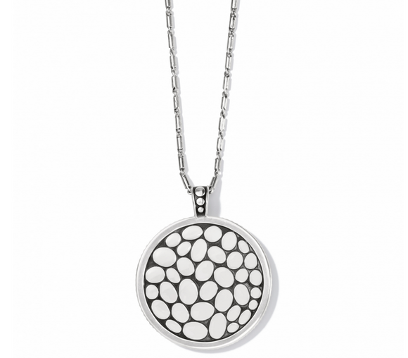 Brighton Pebble Round Convertible Reversible Necklace