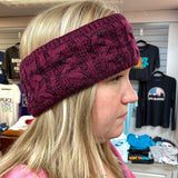 Heather Red Headband