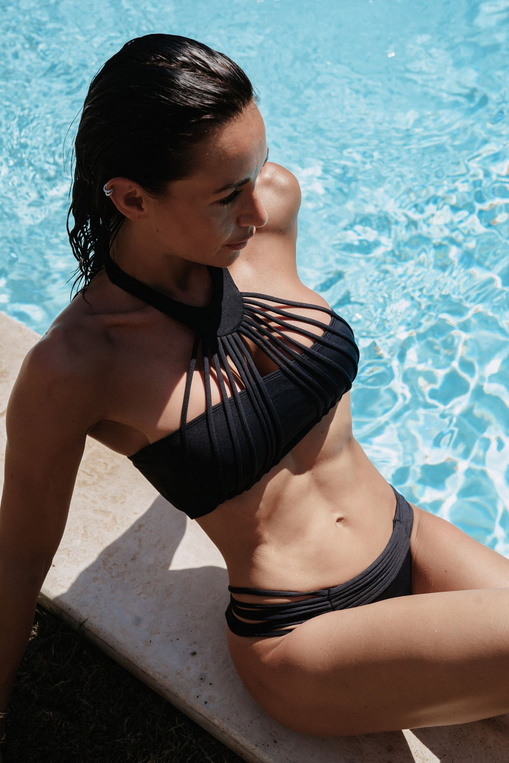 The MYKONOS  Bikini - Black