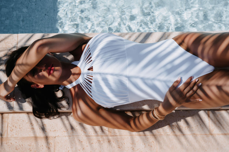 The MYKONOS Swimsuit - WHITE