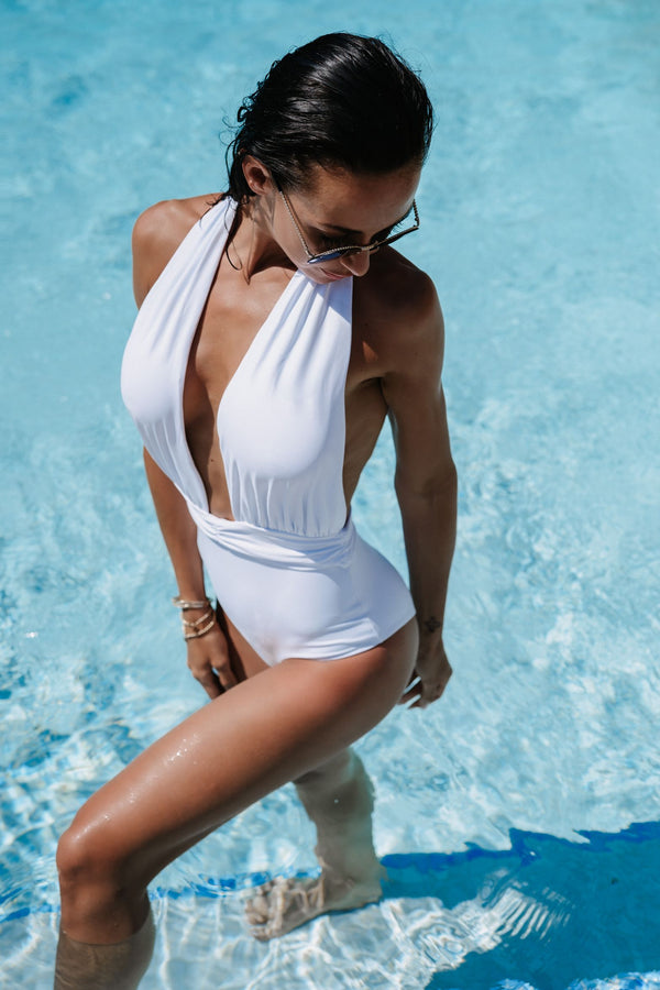 The ST.BARTH Swimsuit - White