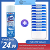 [Best Sellers Set] Lysol Disinfectant Spray(539 g)+ Face Shield (10 PCS) ($43.99 Value)