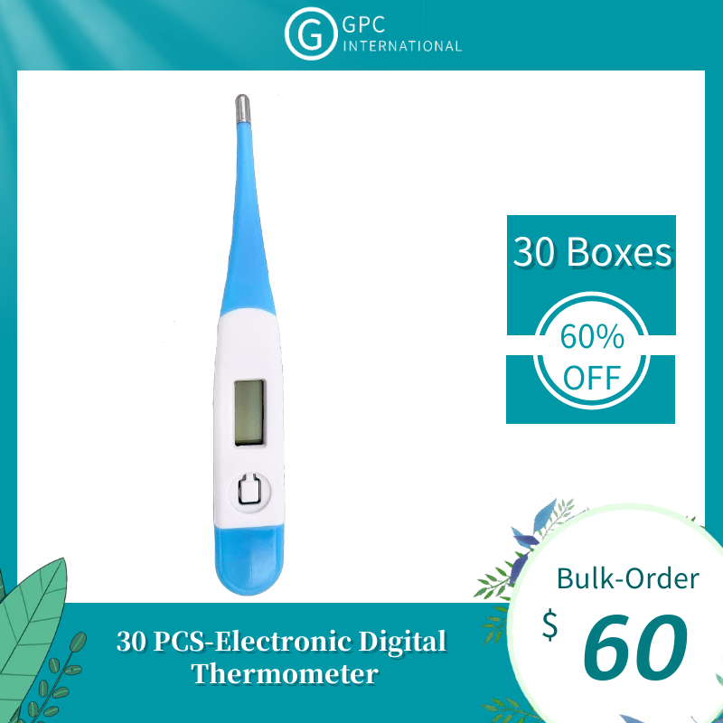【Bulk-Order】30 PCS-Electronic Digital Thermometer