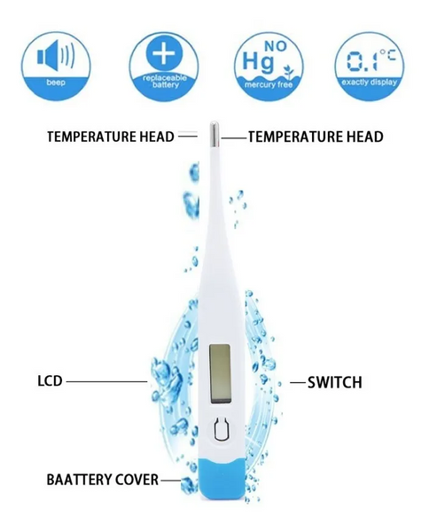 [Coming soon]Digital Thermometer with automatic alarm