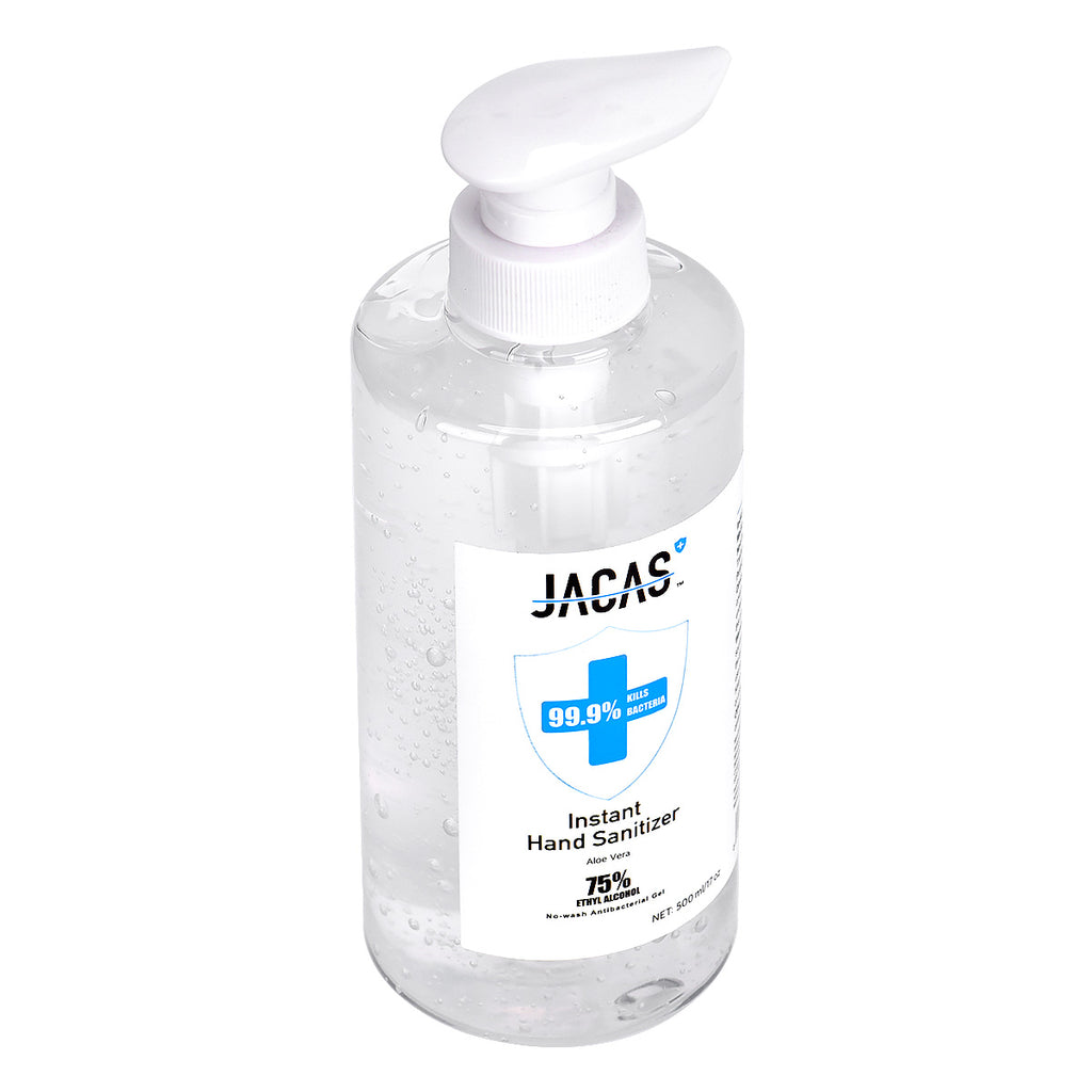Jacas-Instant Hand Sanitizer 75% Alcohol (500ml)