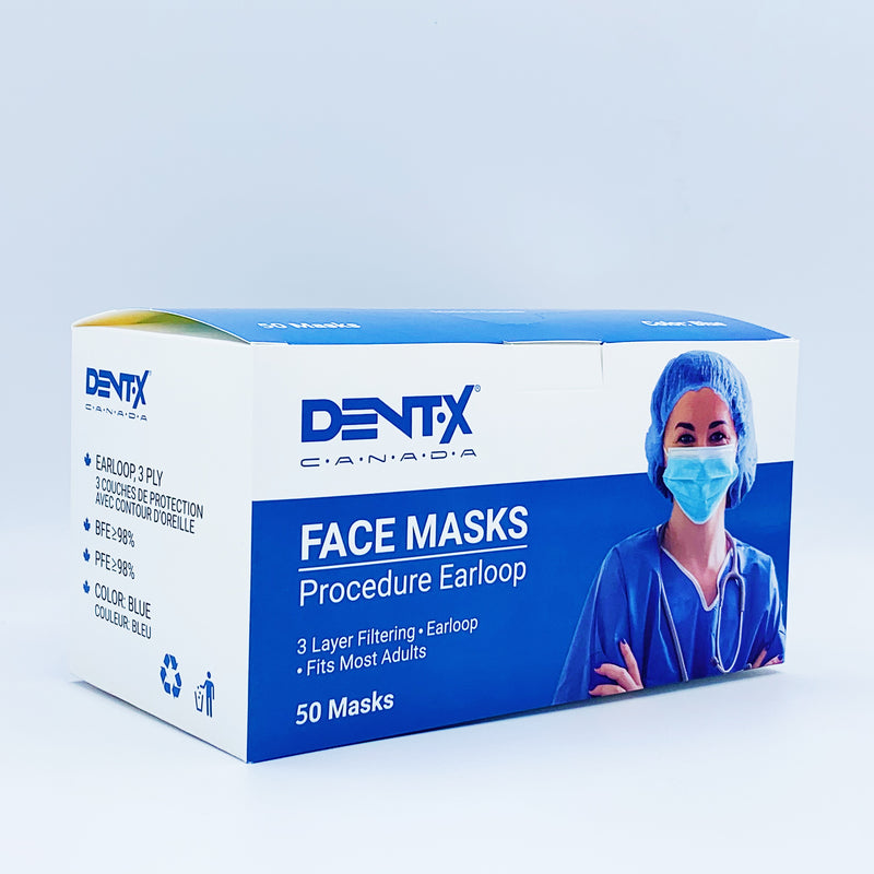 [MADE IN CANADA] DENTX - ASTM Level 3 Surgical Mask (50 Masks)