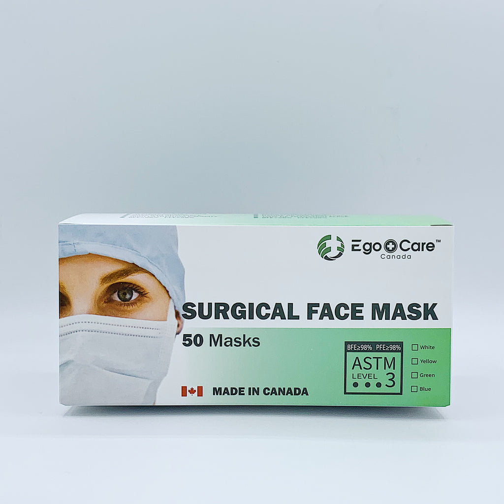 【New Arrival】EgoCare ASTM Level 3 Surgical Face Mask(50 PCS)