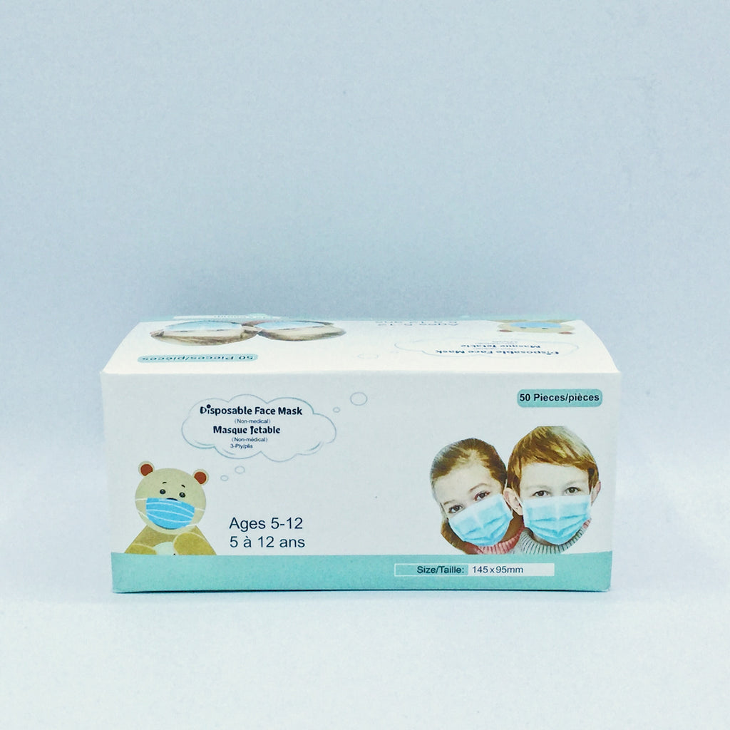 Disposable Kids Face Mask(Non-Medical use) 50 PCS