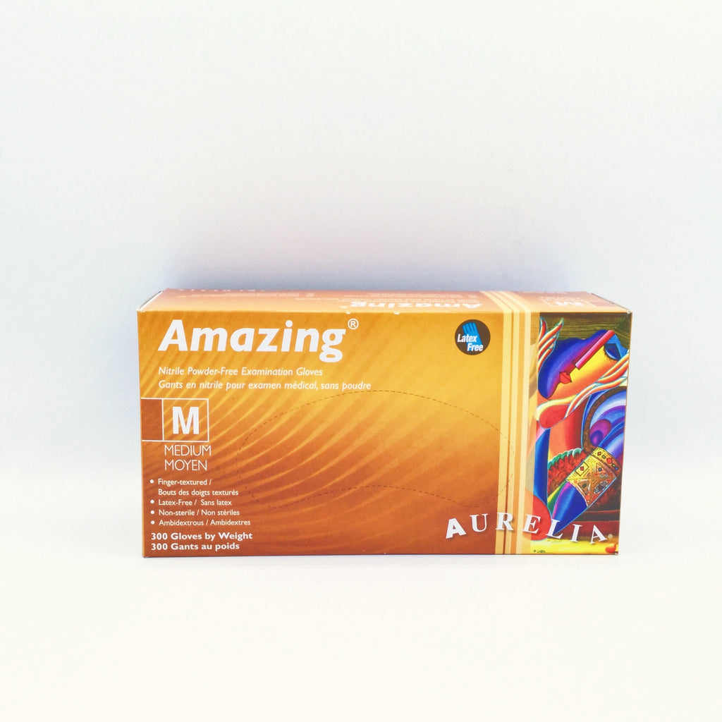 Amazing™ Nitrile Latex-Free Disposable Gloves (300 PCS) - M/L