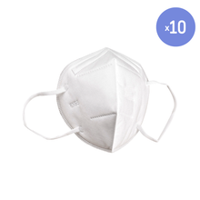 Load image into Gallery viewer, KN95 Respirator Mask | 10-pack ($2.00 ea)