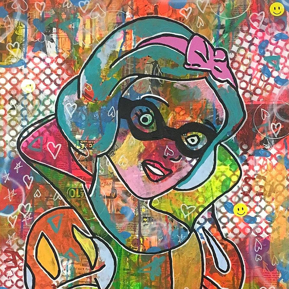 POP UP - Solo Exhibition by Barrie J Davies at Studio 73 Brixton London