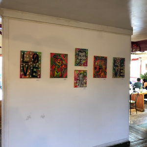"Photos of ""Mini pops"" solo Exhibition by Barrie J Davies"