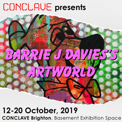 Barrie J Davies' Artworld at Conclave Brighton Gallery