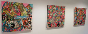 Barrie J Davies artist exhibition