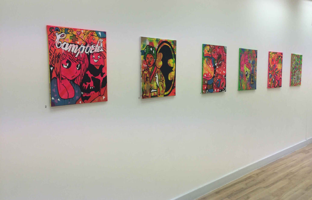 About Barrie J Davies - Urban Pop Art and Street art inspired Artist based in Brighton England UK - Shop Pop Art Paintings, Street Art Prints & collectables.